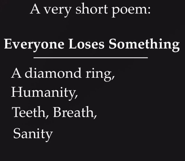 shortpoemvery